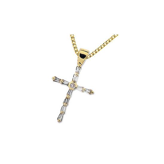 Diamond Cross (0.25ct) Pendant