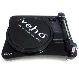 Photo of Veho USB Turntable LP Record To PC Converter Turntables and Mixing Deck