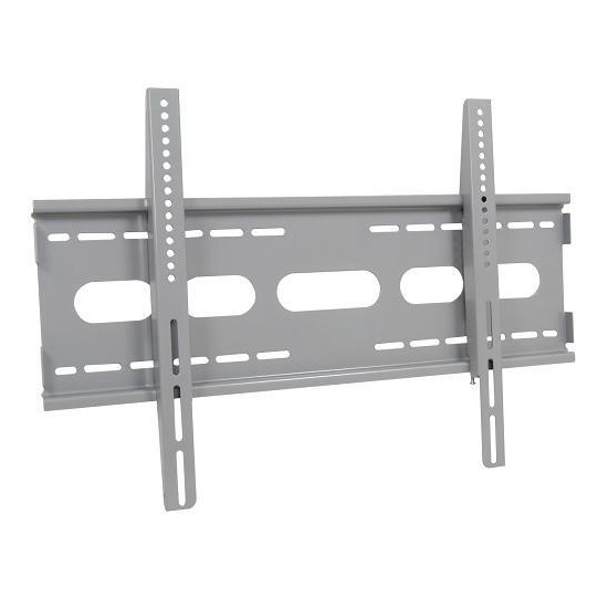 """Mercury 129.180 Large Universal Fixed LCD / Plasma Wall Bracket - Max Weight 75kg, 36"""" to 60"""", Silver"""