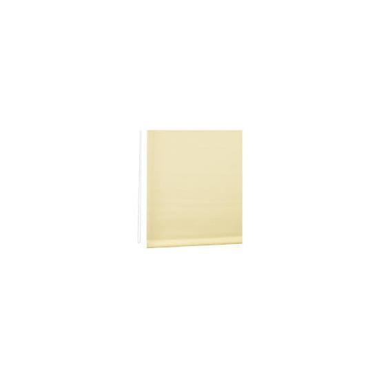 Straight Edge Roller Blind 120cm Cream