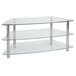 Mercury 3 Shelf Corner Unit Clear Reviews