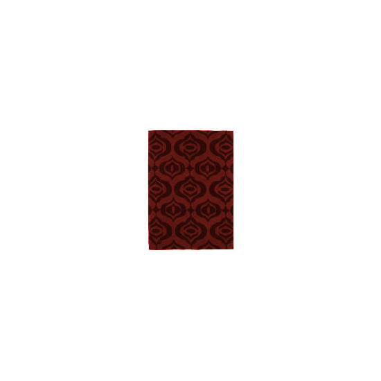 Tesco Acrylic Ogee Red 120x170cm