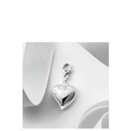 Silver Puffed Heart Charm Reviews