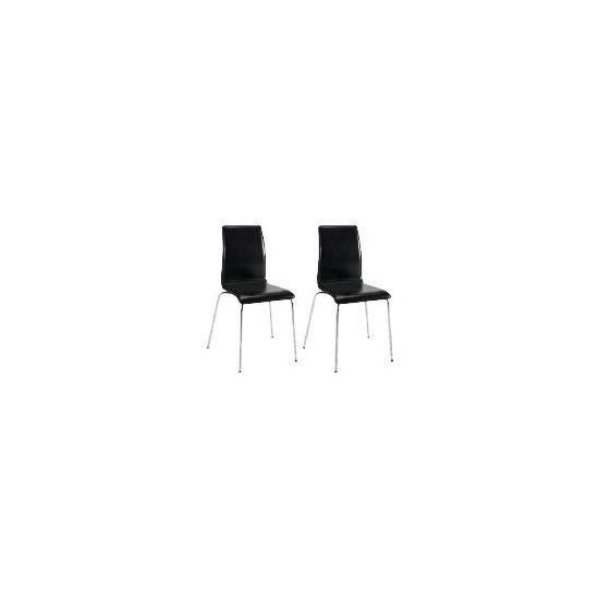 Pair of Garda Chairs, Black