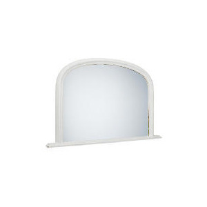 """Photo of Arch Overmantle Mirror Off White 31X47"""" Home Miscellaneou"""
