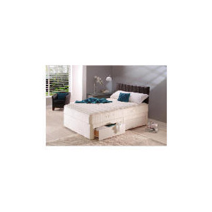 Photo of Sealy Posturepedic Gold Dream Double 4 Drawer Divan Set Bedding