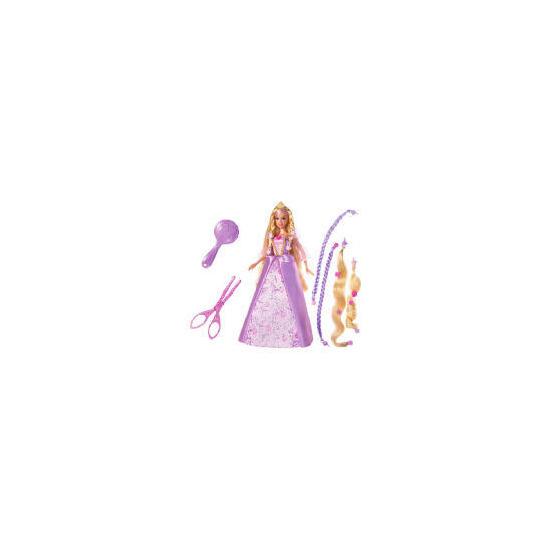 Barbie Rapunzel Cut And Style