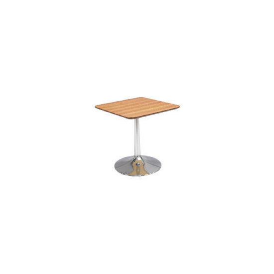 Mesa Side Table, Zebrano effect