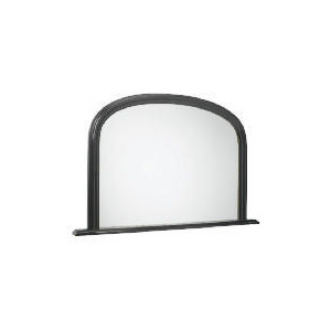"Photo of Arch Overmantle Mirror Black 31X47"" Home Miscellaneou"