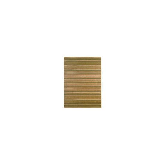 Tesco Flatweave Stripes, 170x240cm, Green