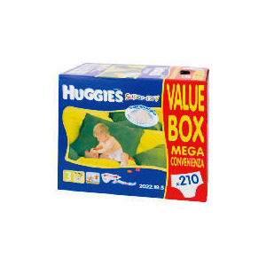 Photo of Huggies Superdry 3 Mega Value 210 Baby Product