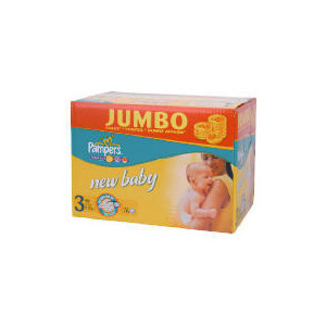 Photo of Pampers New Baby Jumbo Pack Midi 76 Baby Product