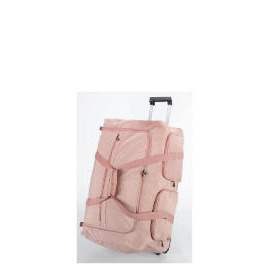 Solar dusky pink Wheeled trolley holdall Reviews