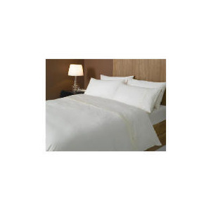 Photo of Hotel 5* Squares Duvet Set Superking, Cream Bed Linen