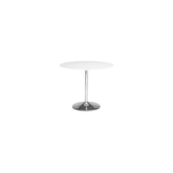 Barello Dining Table, White Gloss