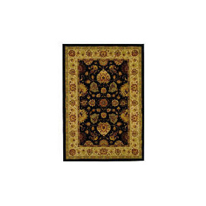 Photo of Tesco Viscount Rug 120X170CM, Black Rug