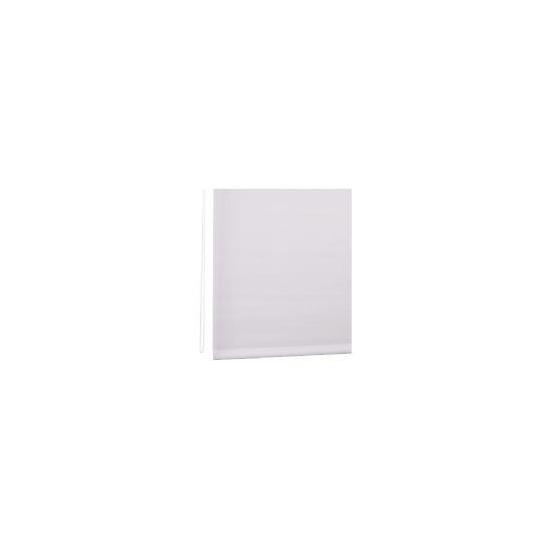 Straight Edge Roller Blind 120cm White