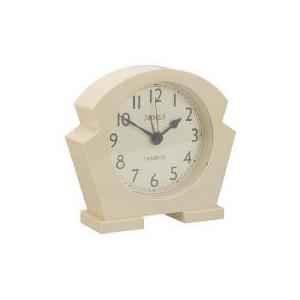 Photo of Jones & Co Jazz Cream Mantel Clock Home Miscellaneou