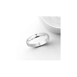 Photo of 18CT White Gold 3MM Wedding Band, N Jewellery Woman