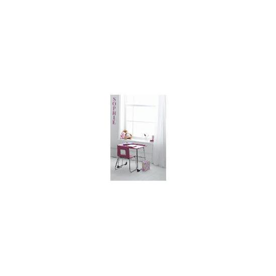 Doodle Desk & Chair Set, Purple