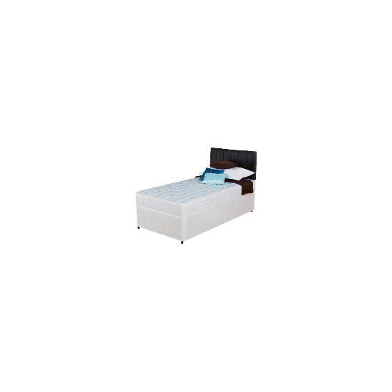 Silentnight Miracoil 3-Zone Montana Single Non Storage Divan Set