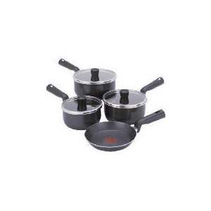 Photo of Tefal 4 Piece Easy Grip Pan Set Cookware