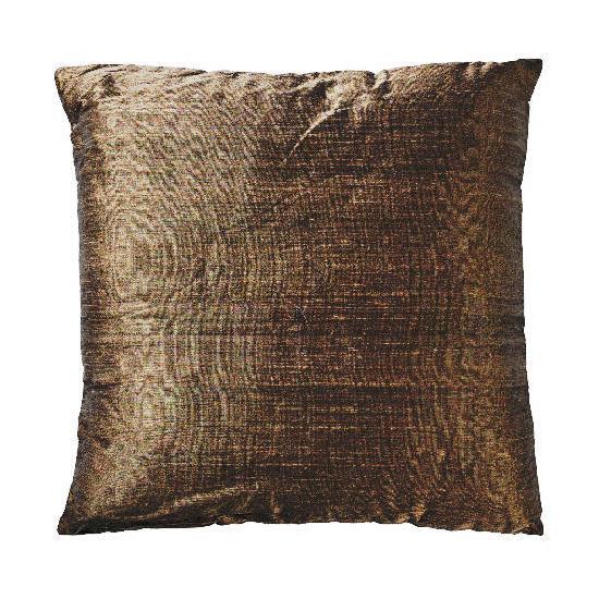Tesco Finest Plain Silk Cushion, Mocha