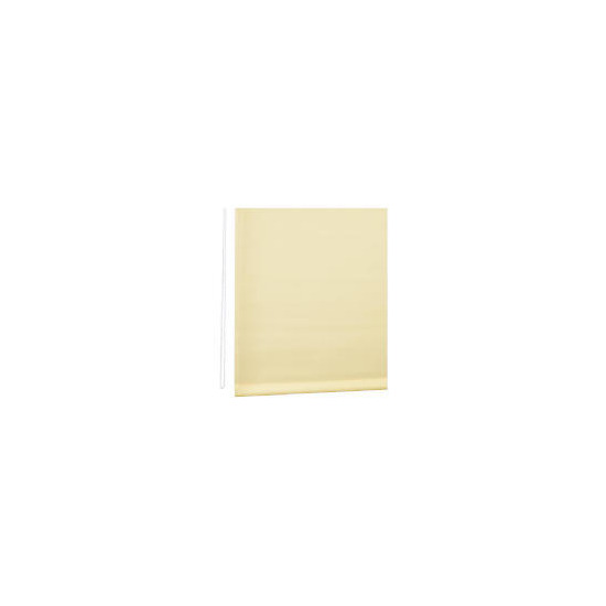 Straight Edge Roller Blind 180cm Cream