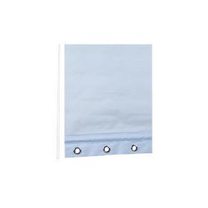 Photo of Eyelet Roller Blind 120X160CM Light Blue Blind