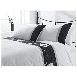Photo of Tesco Tahiti Embroidered Duvet Set Double Bedding