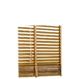Wood Venetian Blind Oak Effect 180cm 35mm slats Reviews