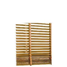 Wood Venetian Blind Oak Effect 180cm 35mm slats Reviews