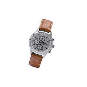 Photo of Lorus Mens Brown Strap Chronograph Watch Watches Man