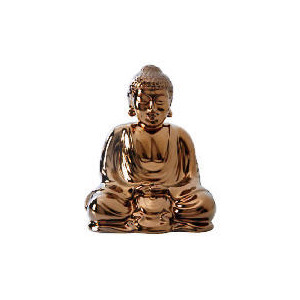 Photo of Tesco Ceramic Buddha Bronze Colour Home Miscellaneou