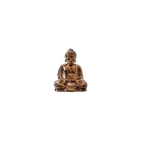 Tesco Ceramic Buddha Bronze colour