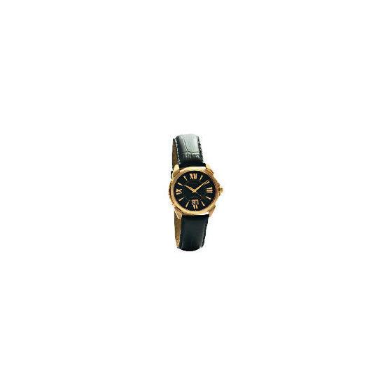 Pulsar Mens Rose Gold Roman Numeral Watch