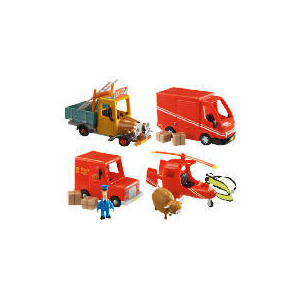 Photo of Postman Pat Push Along Teds Truck & Access Toy