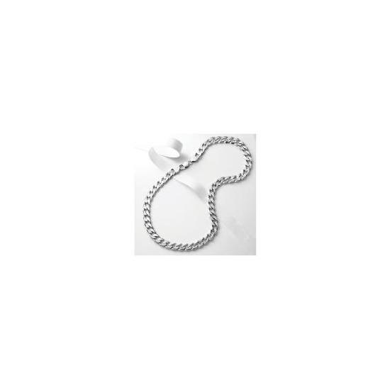 Silver Heavy Curb Chain