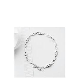 Silver Cubic Zirconia Open Link Bracelet Reviews