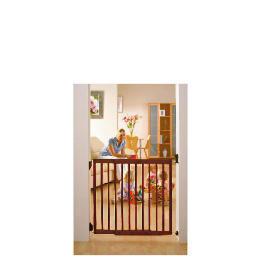 Lindam Dark extending Wooden Safety Gate Reviews