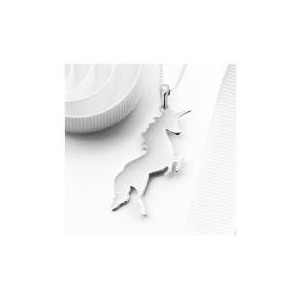 Photo of Silver Unicorn Pendant Jewellery Woman