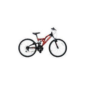 "Photo of Flite Vortex Boys 24"" Dual Suspension Bike Bicycle"