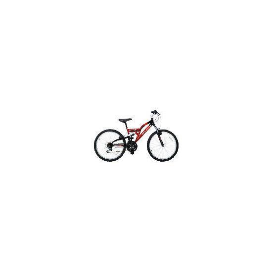 """Flite Vortex Boys 24"""" Dual Suspension Bike"""