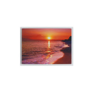 Photo of Sunset Beach Canvas 50X70CM Home Miscellaneou