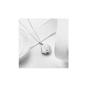 Photo of Silver Diamond Set Little Star Locket Jewellery Woman