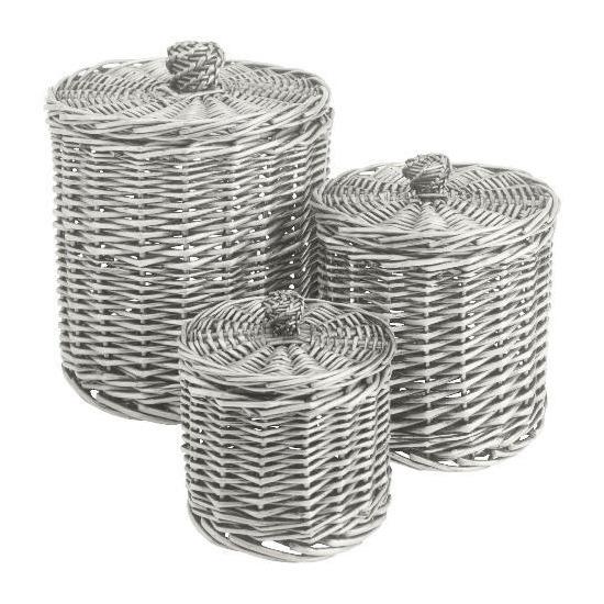 Tesco Willow round storage basket set of 3