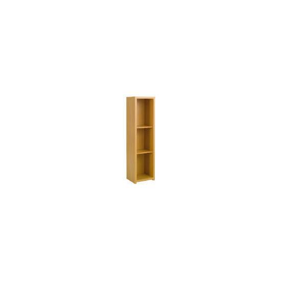 Chunky Beech Floor standing storage cupboard no glass