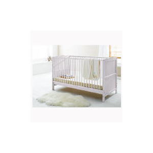 Photo of Saplings Lisa Cot Bed White Baby Product