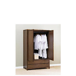 Monzora Large Double Wardrobe Large, Dark Oak Reviews