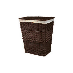 Photo of Darks & Lights Laundry Basket Chocolate Home Miscellaneou